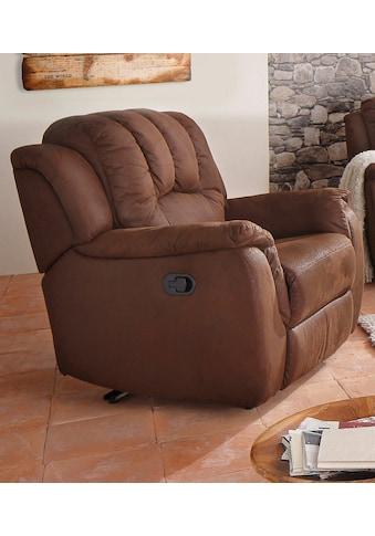 Home affaire XXL-Sessel »Marko«, mit grosszügiger Relaxfunktion kaufen