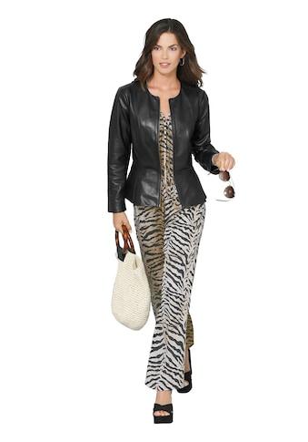 Lady Leder - Blazer mit schmeichelndem Schösschen kaufen