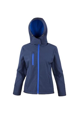 Result Softshelljacke »Core Lite Damen Softshell-Jacke mit Kapuze« kaufen