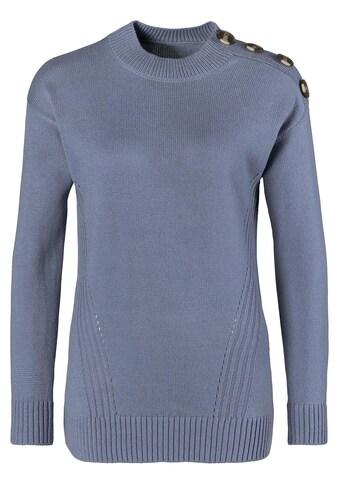 Classic Basics Pullover mit wärmenden Stehkragen kaufen