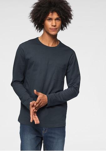 GOODproduct Langarmshirt »aus nachhaltiger Bio-Baumwolle« kaufen