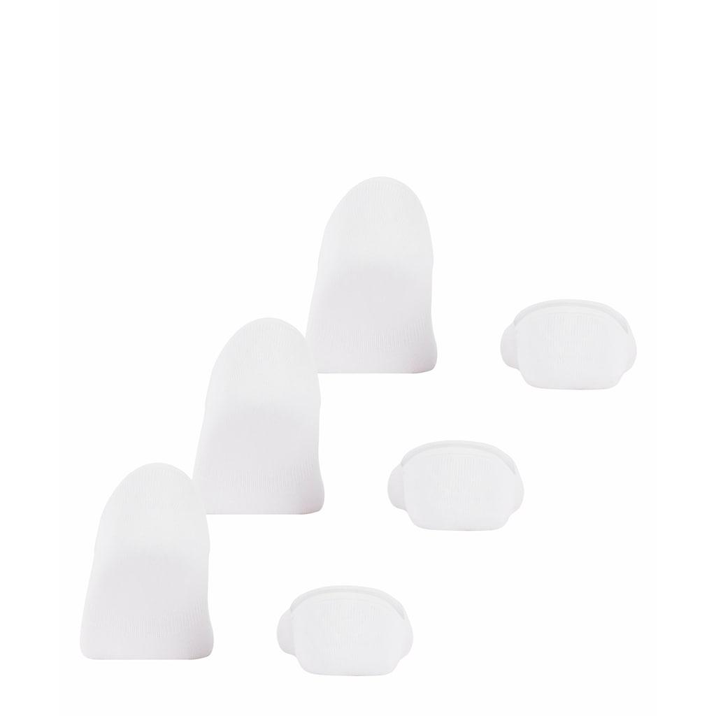 FALKE Füsslinge »Step 3-Pack«, (3 Paar), mit Anti-Slip-System