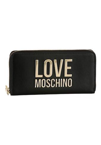 LOVE MOSCHINO Geldbörse, mit grossem Love Moschino Metall-Logo kaufen