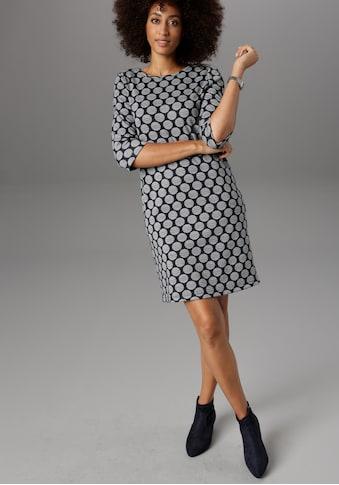 Aniston SELECTED Jerseykleid, mit Punkten & Streifen kaufen