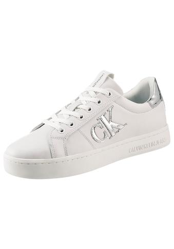 Calvin Klein Sneaker, im Metallic Look kaufen