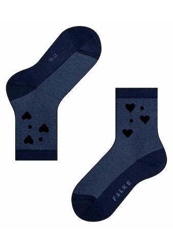 FALKE Socken »Velour Hearts«, (1 Paar), mit transparenten Effekten kaufen