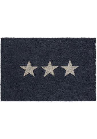 Andiamo Fussmatte »Kokos Star«, rechteckig, 15 mm Höhe, Schmutzfangmatte, Motiv... kaufen