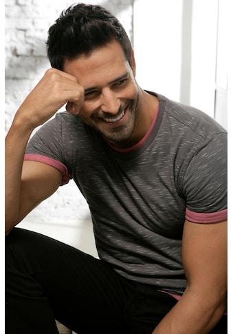 s.Oliver Bodywear T-Shirt »Homewear«, alle Farben in schöner Melange-Optik kaufen