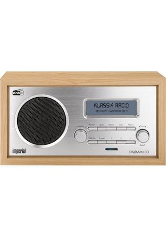 IMPERIAL Digitalradio (DAB+) »Dabman 30 Braun«, ( Digitalradio (DAB+)-FM-Tuner ) kaufen