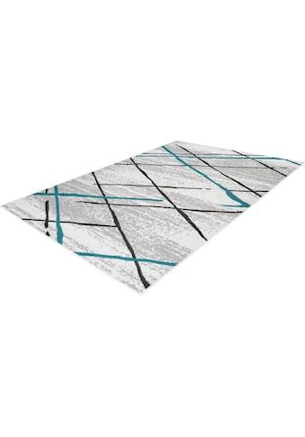 Kayoom Teppich »Vancouver 110«, rechteckig, 10 mm Höhe, Wohnzimmer kaufen