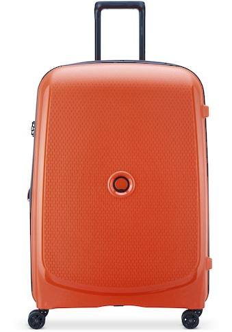Delsey Hartschalen-Trolley »Belmont Plus, 76 cm, orange«, 4 Rollen, mit Volumenerweiterung kaufen