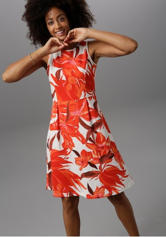 Aniston SELECTED Sommerkleid, im femininen Allover-Print kaufen