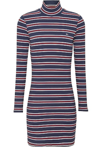 Tommy Jeans Jerseykleid »TJW RIB STRIPE DRESS«, mitTommy Jeans Logo-Flag auf der Brust kaufen