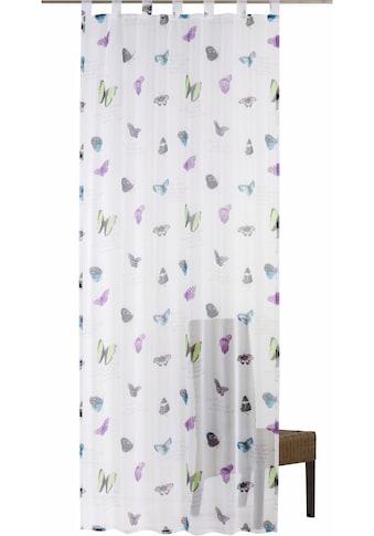 freundin Home Collection Gardine »FD Summer Butterfly«, HxB: 255x140 kaufen