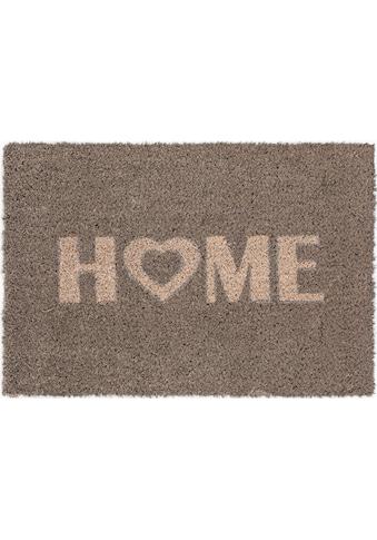 Andiamo Fussmatte »Kokos Home Heart«, rechteckig, 15 mm Höhe, Fussabstreifer,... kaufen