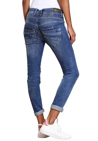 GANG Skinny-fit-Jeans »MARGE«, mit besonderem 4-Knopf-Verschluss kaufen