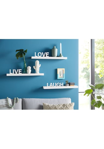 "Home affaire Wandregal ""Live  -  Love  -  Laugh"" (3er - Set) kaufen"