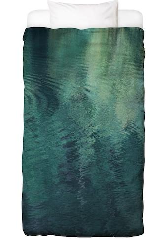 Juniqe Bettwäsche »Forest In The Lake«, In vielen weiteren Designs erhältlich kaufen