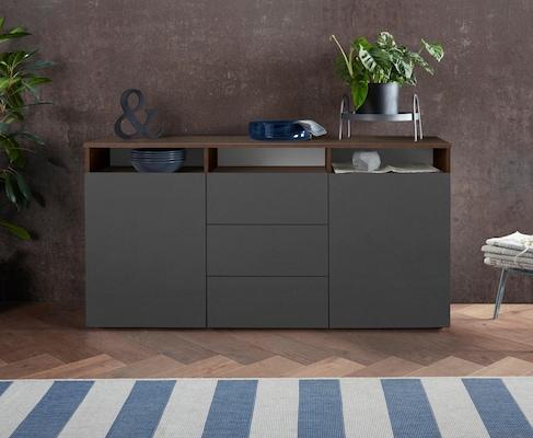 modernes Sideboard in Grau