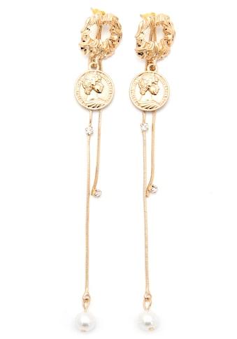 J.Jayz Paar Ohrstecker »mit Münzen, glamourös, vergoldfarbenet« kaufen