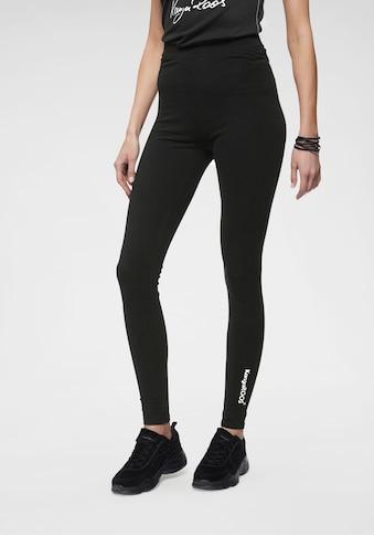 KangaROOS Leggings, mit Logodruck in Kontrastfarben kaufen
