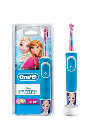 Oral B Elektrische Kinderzahnbürste Frozen Elektrische, Aufsteckbürsten: 1 Stk. kaufen