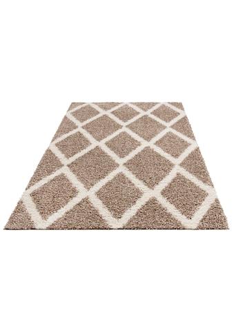 Hochflor - Teppich, »Linz«, my home, rechteckig, Höhe 31 mm, maschinell gewebt kaufen