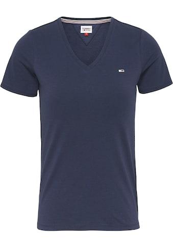 TOMMY JEANS V - Shirt »TJW SKINNY STRETCH V NECK« kaufen