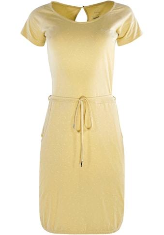 MAZINE Jerseykleid »Namu«, mit Seitentaschen und dezentem Alloverprint kaufen