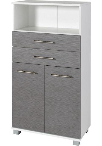 Schildmeyer Midischrank »Palermo«, Breite 60 cm, mit grossem Fach, verstellbarer... kaufen