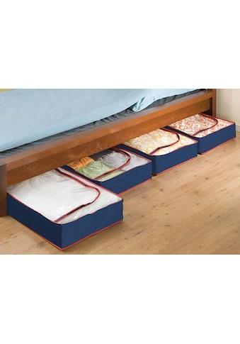 WENKO Unterbettkommode, (Set, 4 St.), aus recyclingfähigem Material kaufen