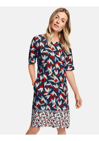 GERRY WEBER Kleid Gewebe »Kleid mit Saumbordüre« kaufen