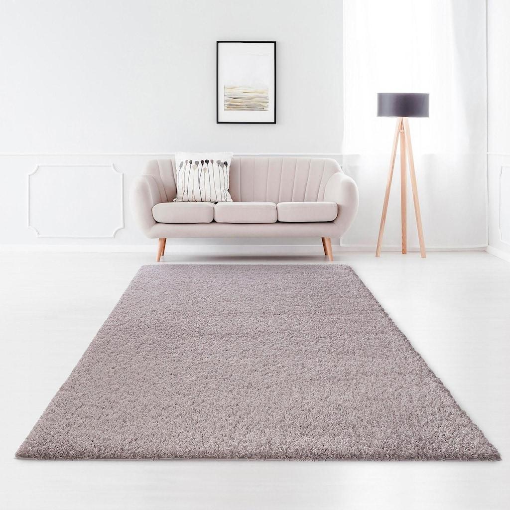 Home affaire Hochflor-Teppich »Viva«, rechteckig, 45 mm Höhe, gewebt, Wohnzimmer