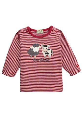 BONDI Trachtenshirt, mit Schaf und Kuh Applikation kaufen