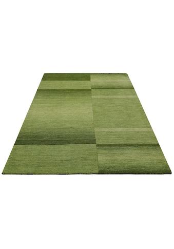 Theko Exklusiv Wollteppich »Jorun«, rechteckig, 14 mm Höhe, reine Wolle, von Hand gearbeitet, Wohnzimmer kaufen