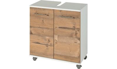 Schildmeyer Waschbeckenunterschrank »Palermo«, Breite 60 cm, mit Metallgriffen,... kaufen