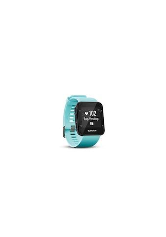 Garmin Fitnessuhr »GPS-Sportuhr Forerunner 35 Frostblue Türkis Schwarz«, ( ) kaufen