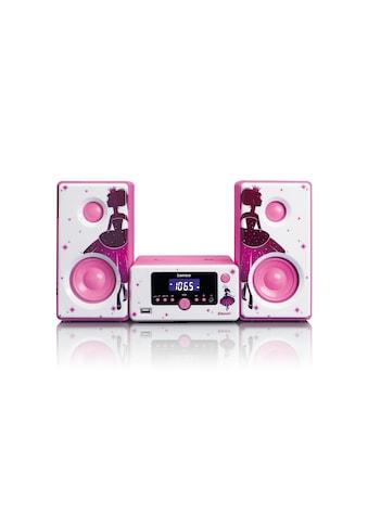 Lenco Microanlage »MC-020 Pink«, (Bluetooth FM-Tuner ) kaufen