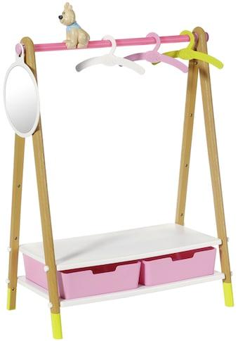 Baby Born Puppenmöbel »Kleiderstange«, mit Dekohund und Spiegel kaufen