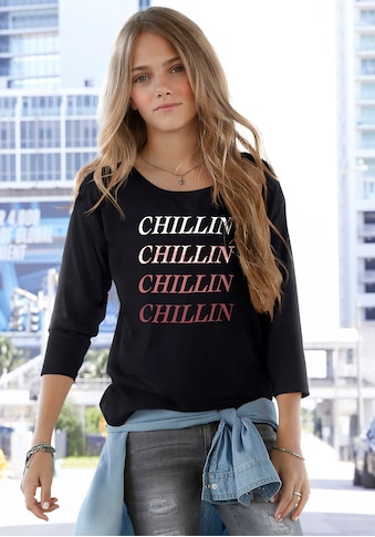 Arizona 3/4 - Arm - Shirt »CHILLIN« kaufen