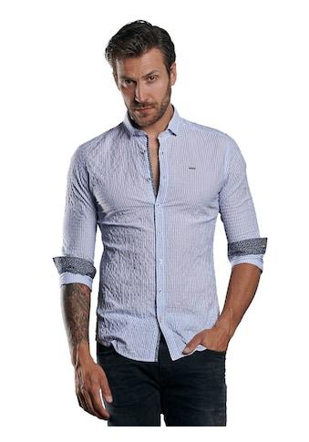 emilio adani Gemustertes Hemd aus super leichter Warenqualität kaufen