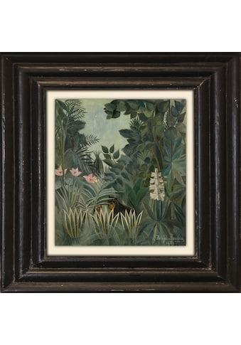queence Leinwandbild »Dschungel« kaufen