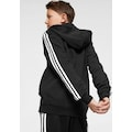 adidas Performance Sweatjacke »ESSENTIALS 3-STREIFEN KAPUZENJACKE«
