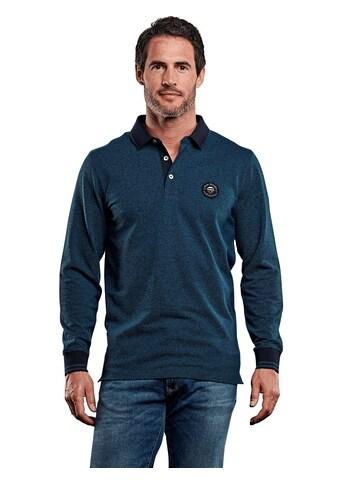 Engbers Two - Tone Poloshirt langarm kaufen