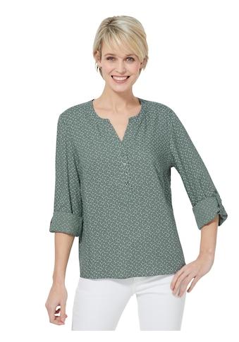 Classic Basics Bluse, zart bedruckt kaufen