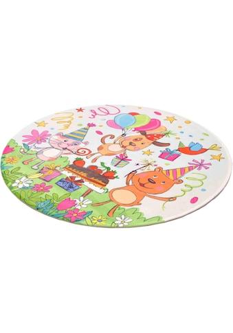 Kinderteppich, »Lovely Kids 418«, Böing Carpet, rund, Höhe 6 mm, gedruckt kaufen