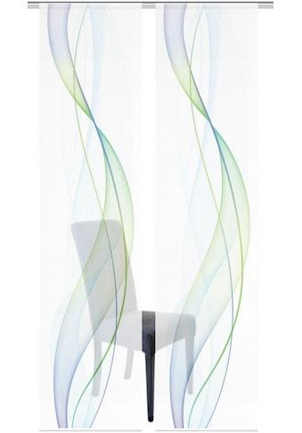Vision S Schiebegardine »2ER SET HEIGHTS«, HxB: 260x60, Schiebevorhang 2er Set... kaufen