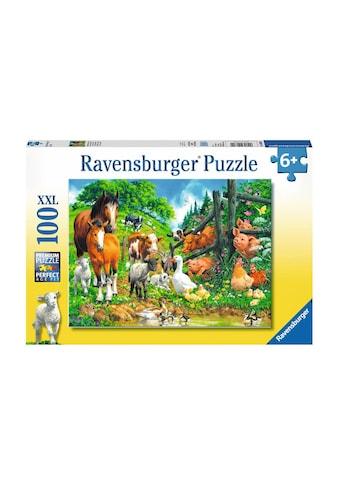 Ravensburger Puzzle »Versammlung der Tiere« kaufen