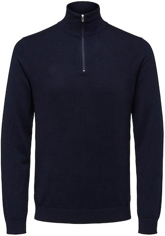 SELECTED HOMME Troyer »Berg Half Zip Cardigan« kaufen