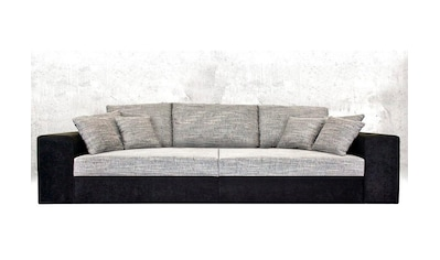 Nova Via Big-Sofa, wahlweise mit Kaltschaum (140kg Belastung/Sitz) und Bettfunktion kaufen
